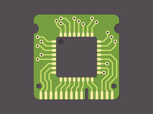 random-access memory - cpu stock illustrations