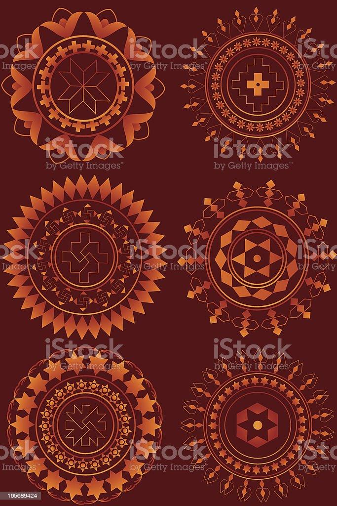 Rangoli Mandala.. royalty-free stock vector art