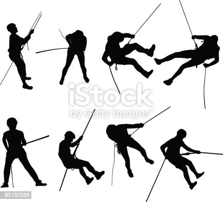 For more silhouettes or Canyoning and Rappelling photos, please visit my gallery.