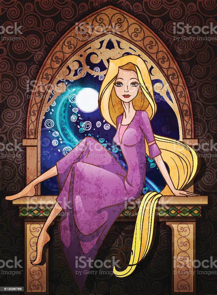 Best Rapunzel Illustrations  Royalty-free Vector Graphics  U0026 Clip Art