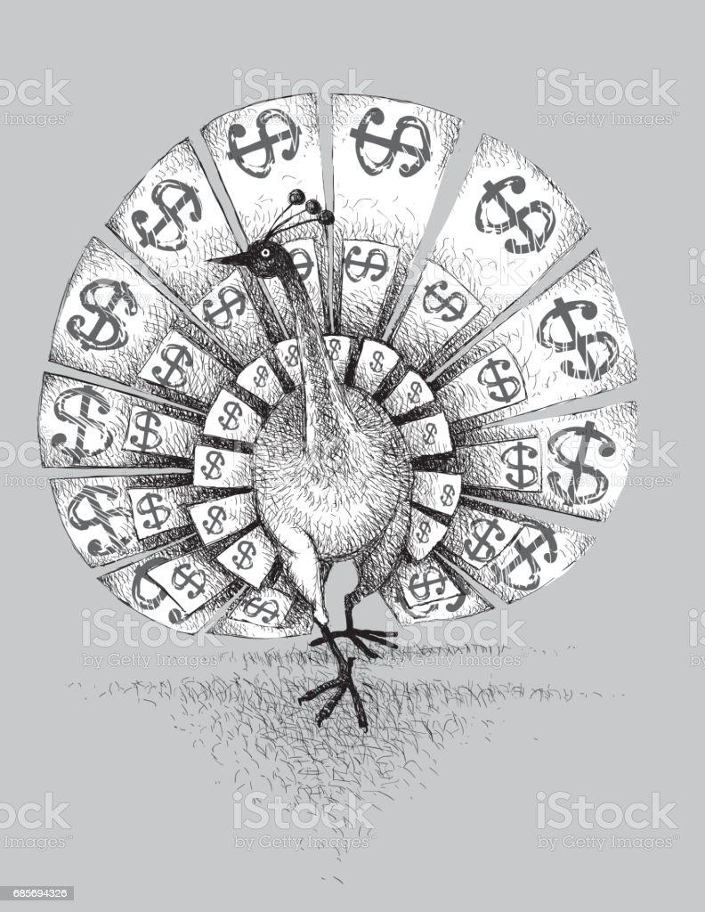 Rare bird royalty-free rare bird stock vector art & more images of bank