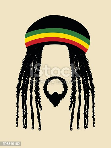 Rastafarian Stock Vector Art Amp More Images Of 1970 1979