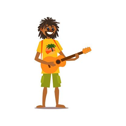 Rastafarian Vector Illustration