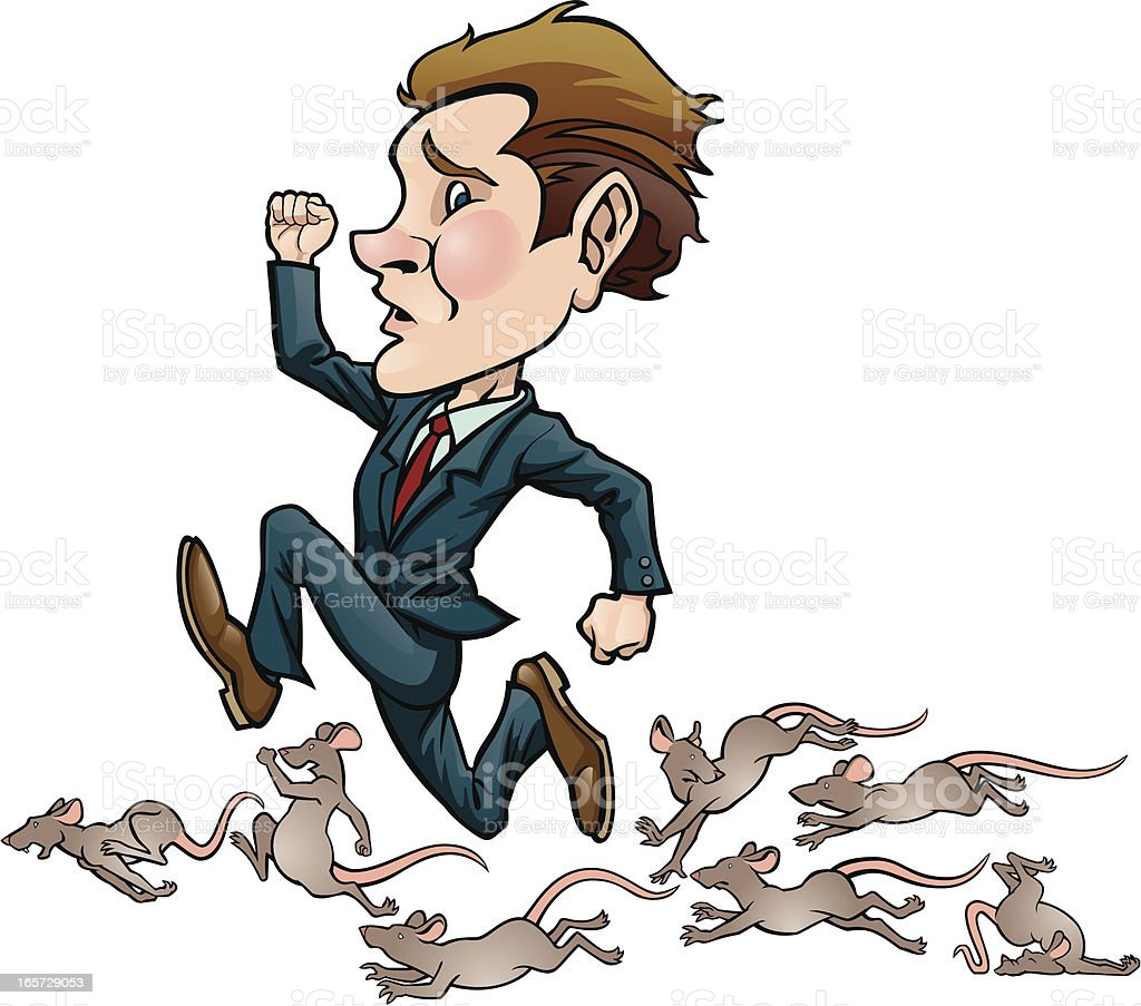 Rat Race royalty-free rat race stock vector art & more images of animal