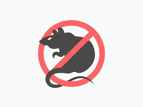 鼠警告向量符號向量圖形及更多俄羅斯圖片