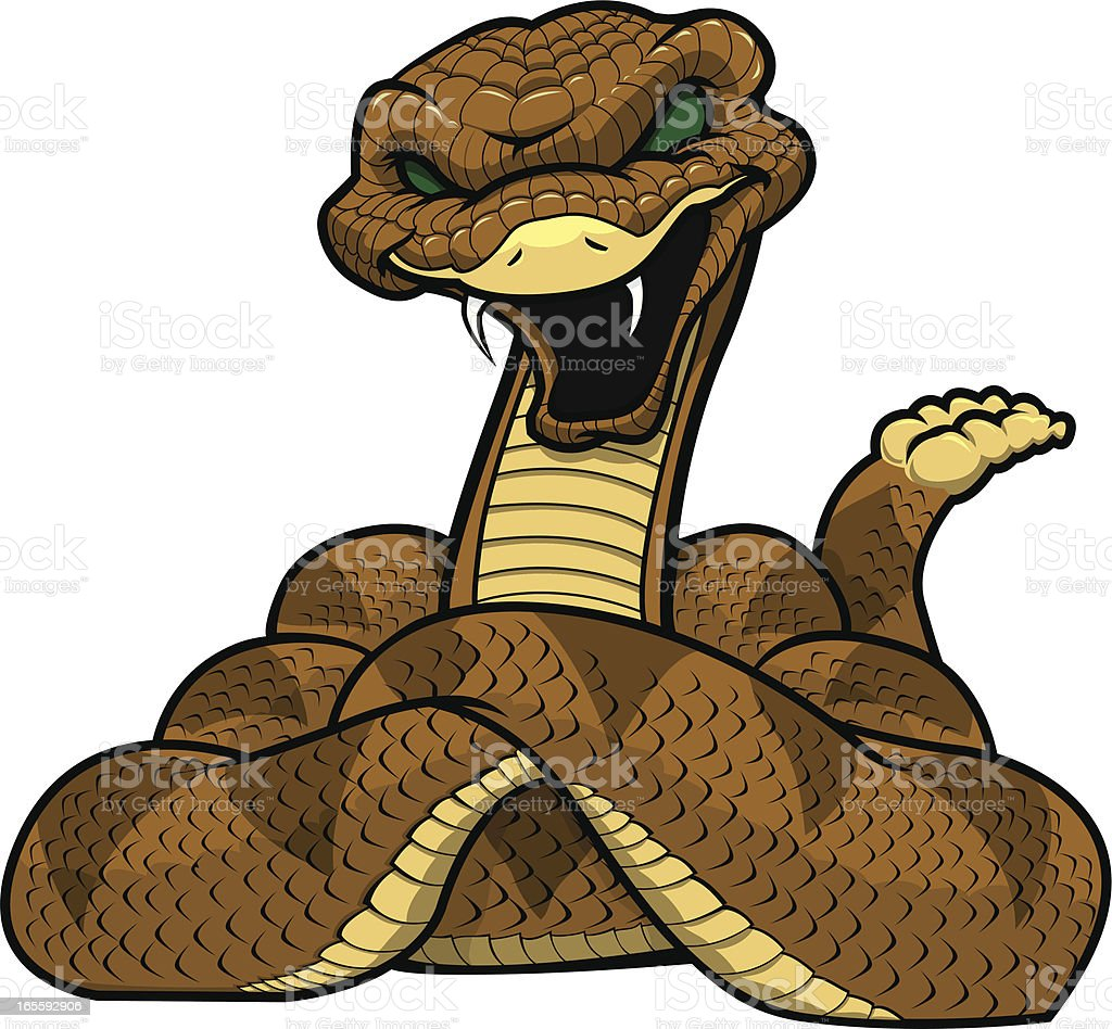 royalty free rattlesnake clip art vector images illustrations rh istockphoto com coiled rattlesnake clipart timber rattlesnake clipart