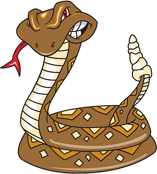Royalty Free Rattle Snake Clip Art, Vector Images ...