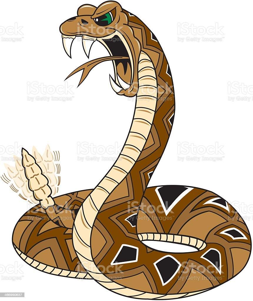 royalty free rattlesnake clip art vector images illustrations rh istockphoto com rattlesnake clipart images cartoon rattlesnake clipart