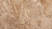 istock Raw flat OSB board in macro - wooden textured  board in vector with visible sharp flattened wooden components - beautiful natural multilayered messy background 1225611831