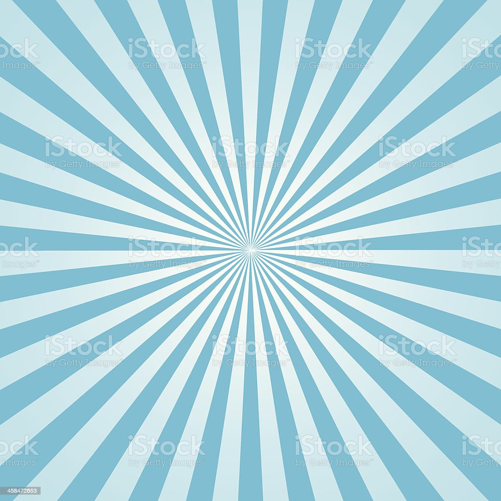 rays illustration sky blue vector art illustration
