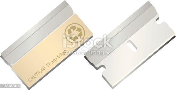 istock Razor Blades 165487915