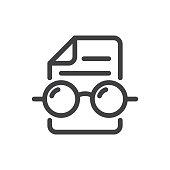 istock Readability checker icon 1209196521
