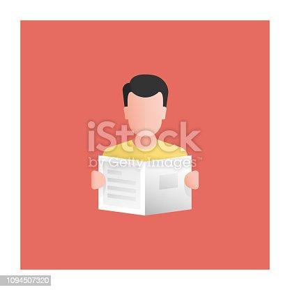 istock Readers Icon 1094507320