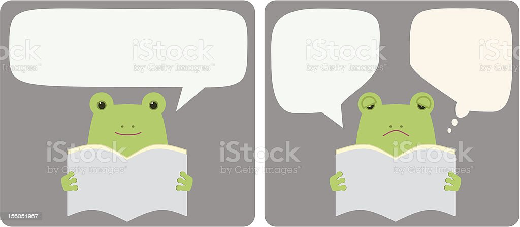 reading a book 4 royalty-free stock vector art