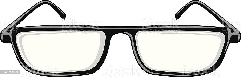 Reading Glasses royalty-free stock vector art