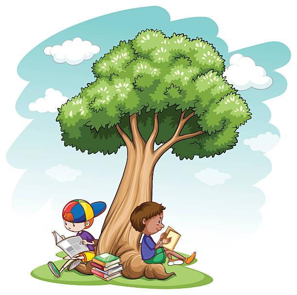 Royalty Free Tree Shade Clip Art, Vector Images ...