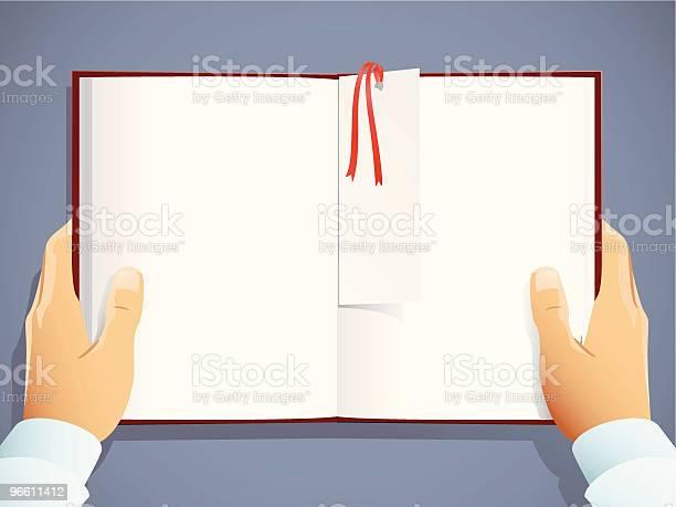 A Leitura - Arte vetorial de stock e mais imagens de Aberto