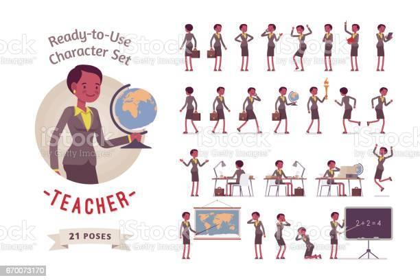 Readytouse female teacher character set different poses and emotions vector id670073170?b=1&k=6&m=670073170&s=612x612&h=stq36w4ov23nds4 m2rk6jhgcdfc5xoltdhfhdodnpy=