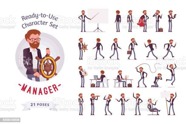 Readytouse male manager character set different poses and emotions vector id836648898?b=1&k=6&m=836648898&s=612x612&h=njjatrbskrphzndjvejfrbmctvb0zcge3n5cjxzhcy8=