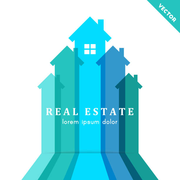 Real estate and development concept vector art illustration
