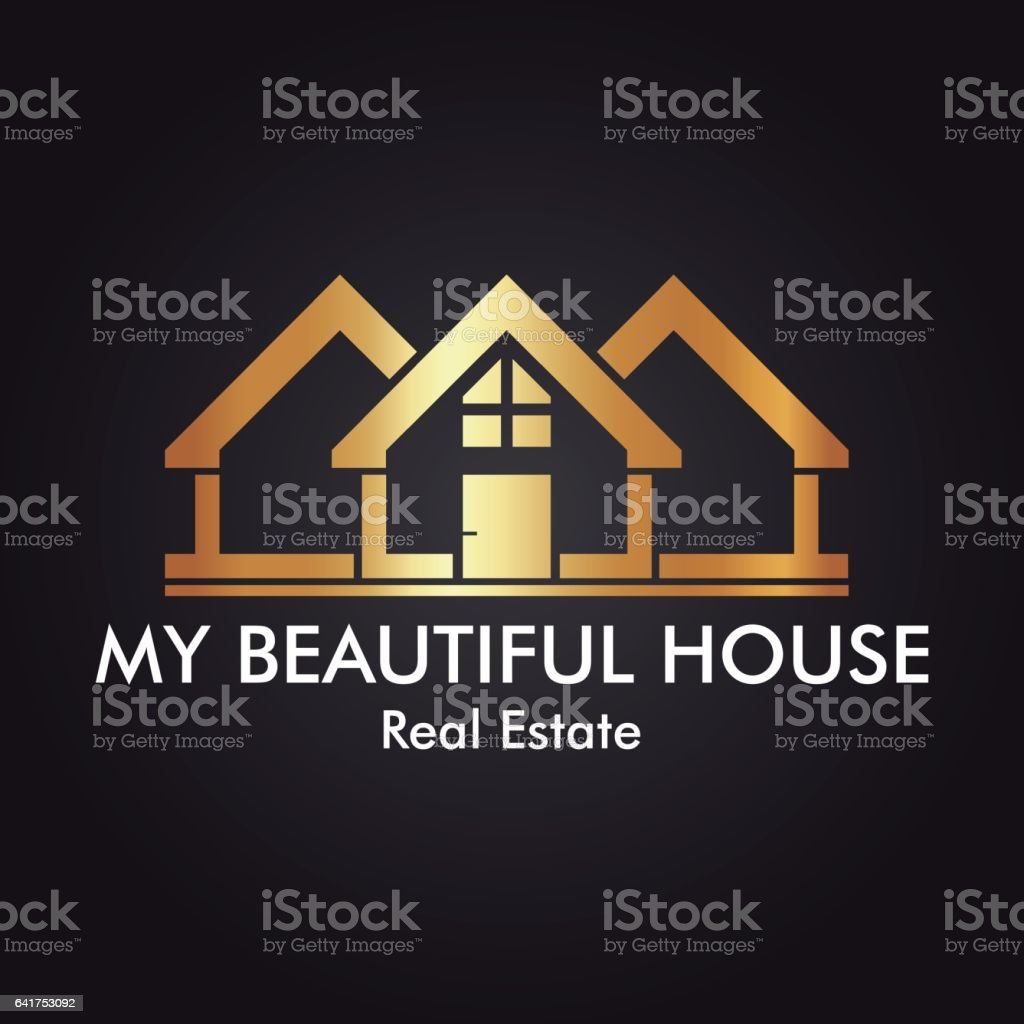 Real Estate, Building, Construction and Architecture Logo Vector Design Eps 10 vector art illustration