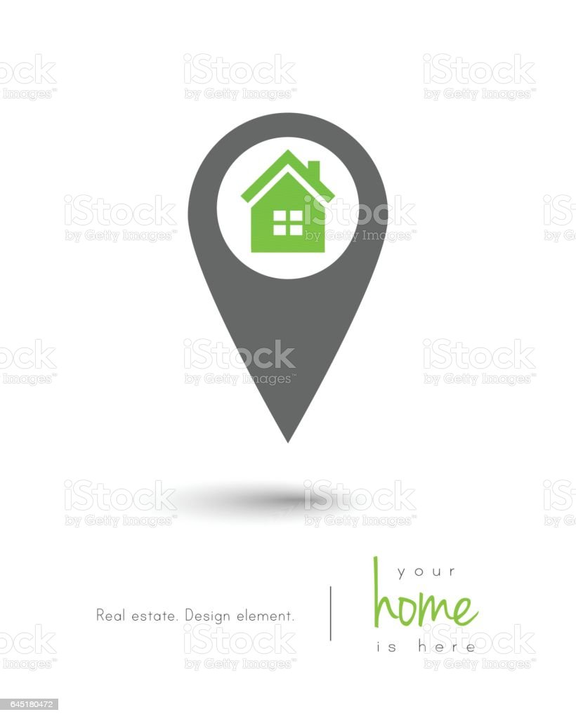 Real estate concept vector art illustration