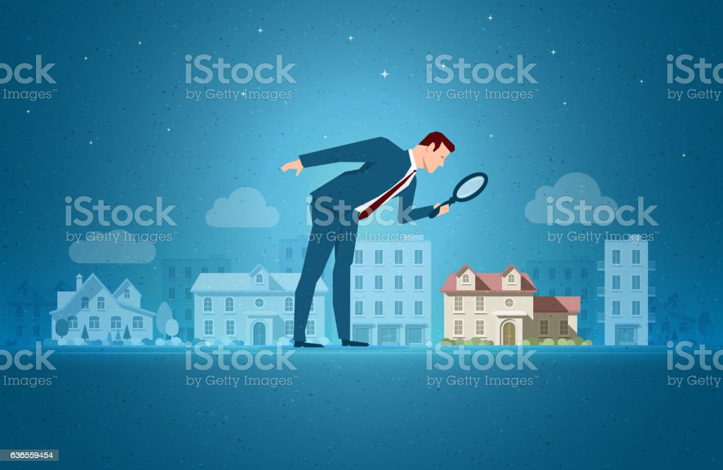 Real Estate concept vector illustration vector art illustration