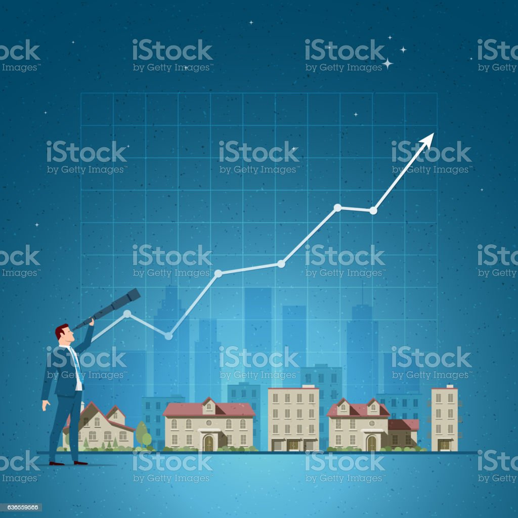 Real Estate concept vector illustration – Vektorgrafik