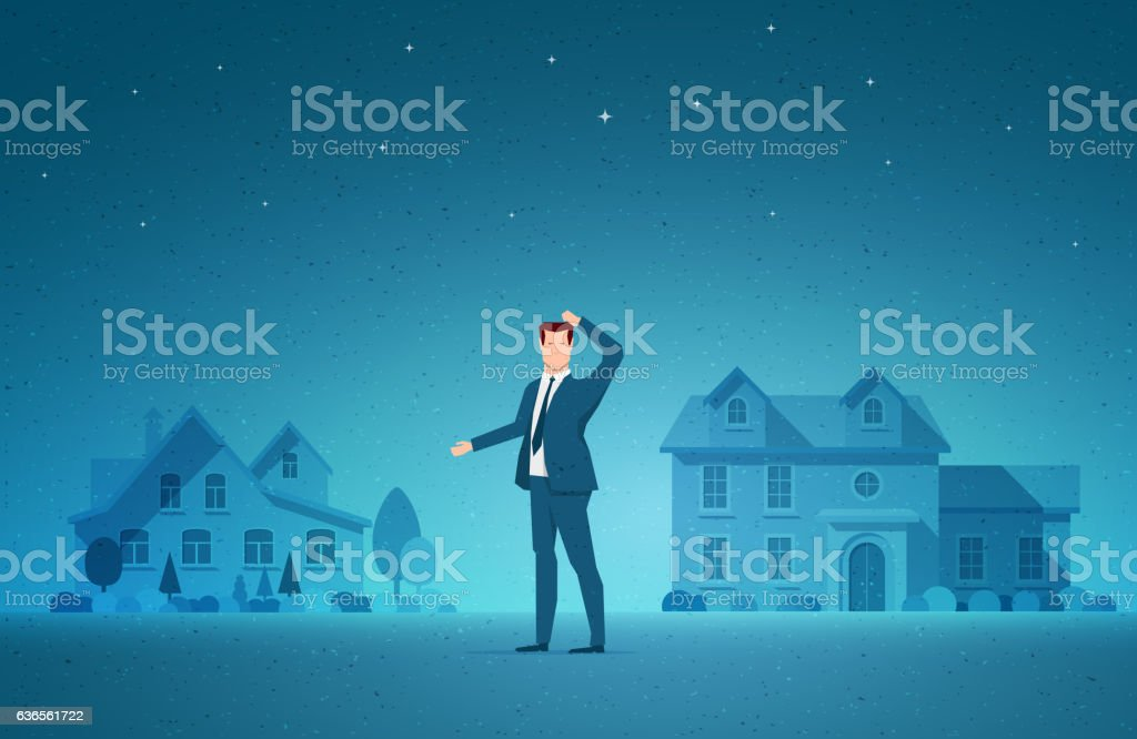 Real Estate concept vector illustration vector art illustration