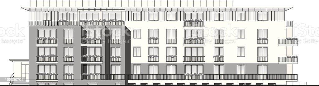 Immobilien-demo – Vektorgrafik