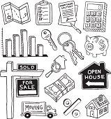 Real Estate Doodles