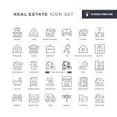 29 Real Estate Icons - Editable Stroke - Easy to edit and customize - You can easily customize the stroke with