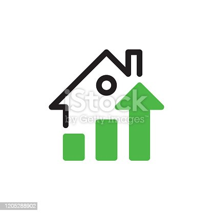 istock Real estate growth concept 1205288902
