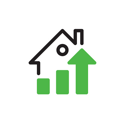 Real estate growth concept