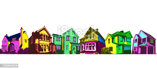 istock Real Estate - Houses 1253846528