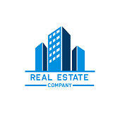 real estate icon isolated on white background. vector illustration