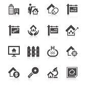 Real Estate Icon Set | Unique Series