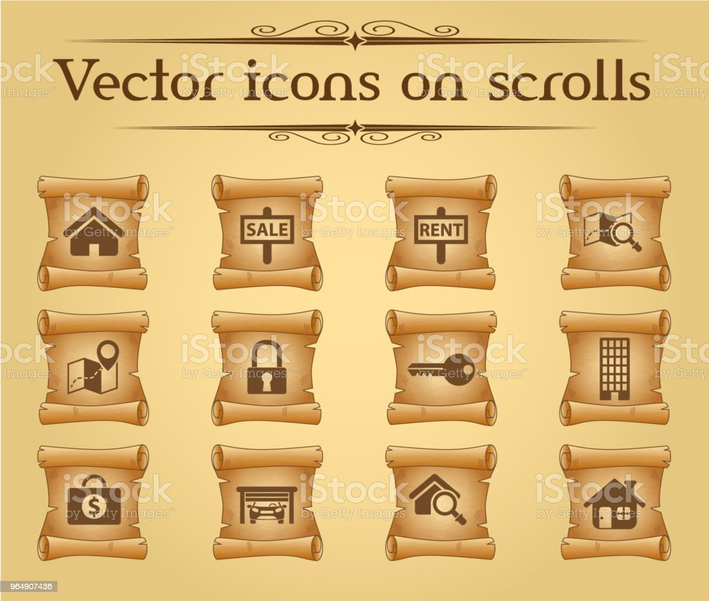 real estate icon set royalty-free real estate icon set stock vector art & more images of advice