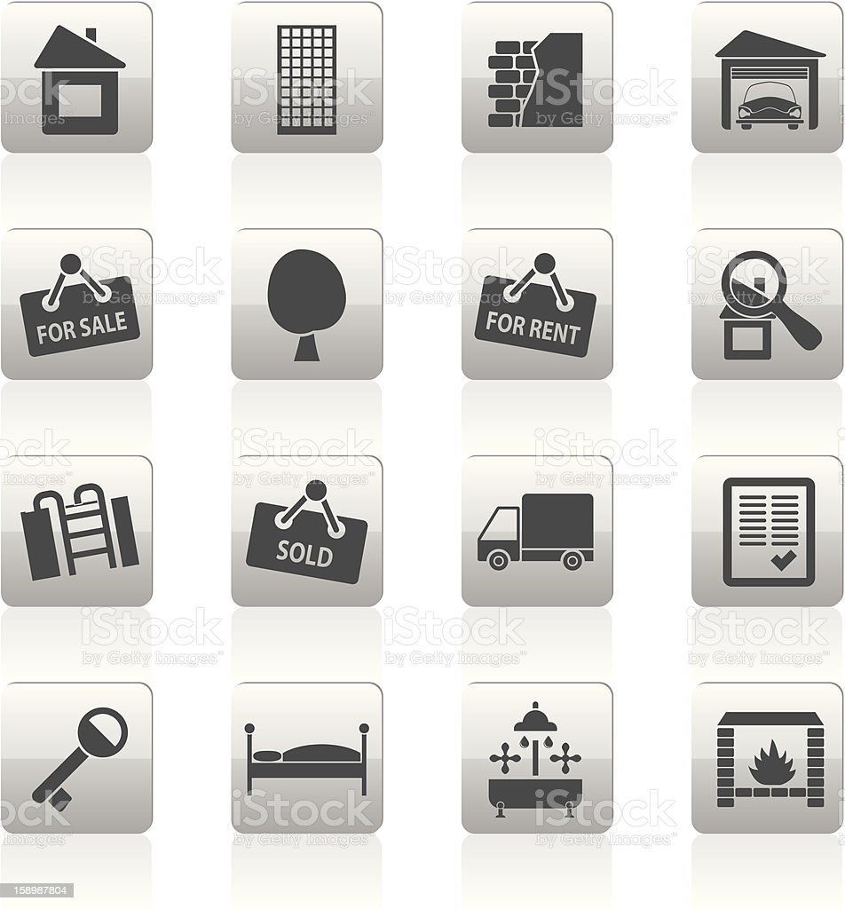 Real Estate icons royalty-free real estate icons stock vector art & more images of apartment