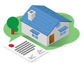 real estate isometric icons concept,real estate illustration vector,isolated vector illustration