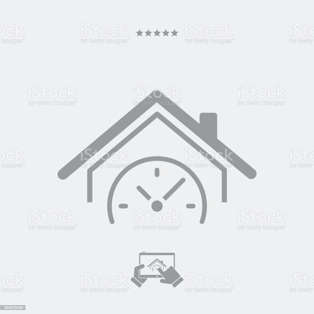 Real estate last minute promo vector art illustration