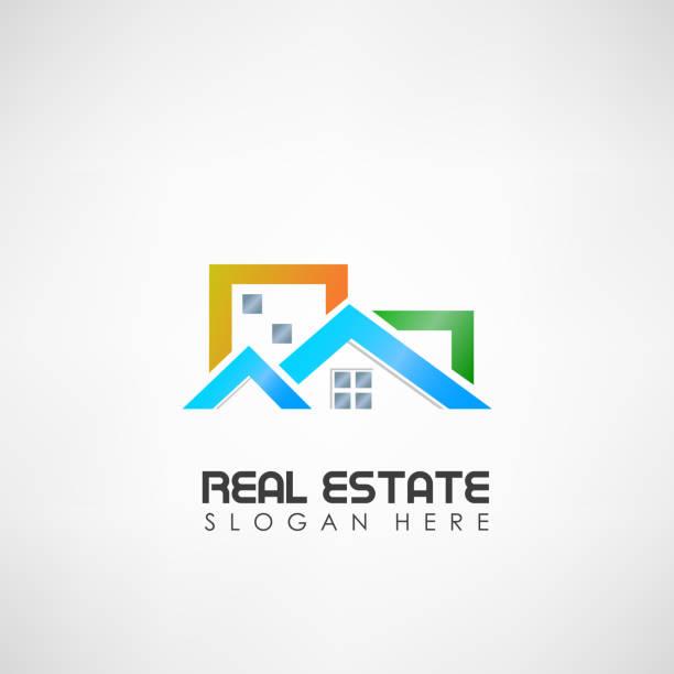 illustrazioni stock, clip art, cartoni animati e icone di tendenza di real estate. suitable for advertisement, investment, and other. vector illustration - real life