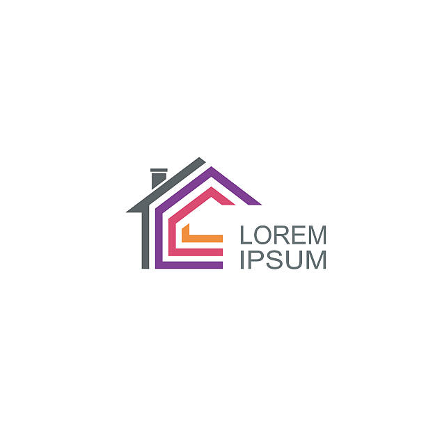 Immobilien-Vektor-logo-design-Vorlage – Vektorgrafik