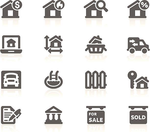 real estate_gracy series_14 - mieszkanie komunalne stock illustrations