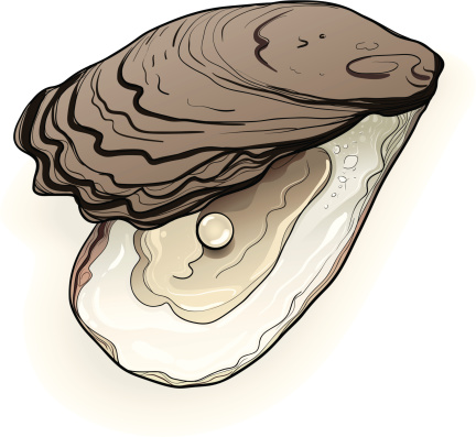 Real Oyster and Pearl