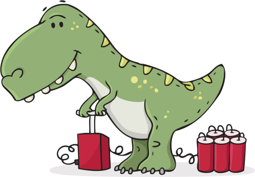 real reason the dinosaurs died out /failure
