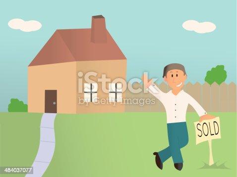 istock Real State Salesman 484037077