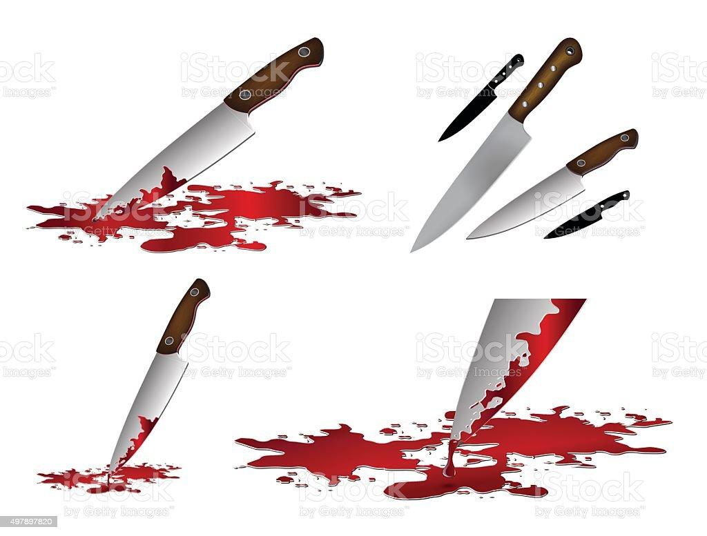 royalty free bloody knife clip art vector images illustrations rh istockphoto com School Clip Art Blood Splatter Clip Art