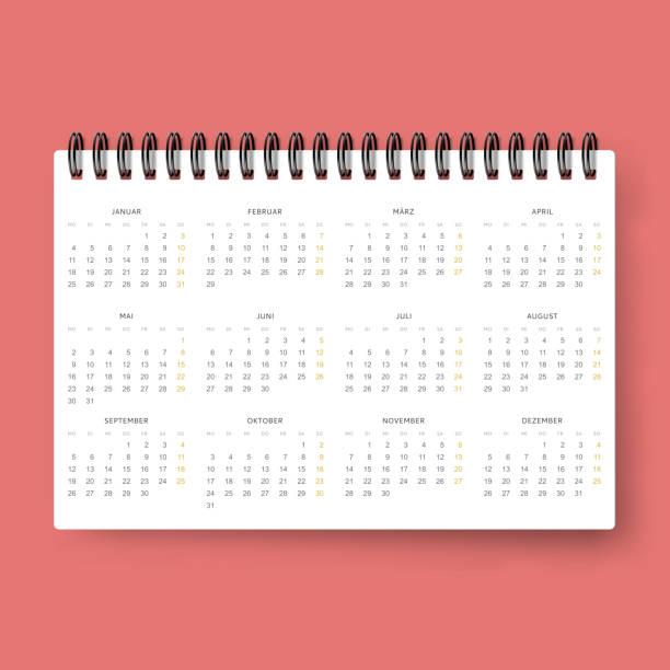 stockillustraties, clipart, cartoons en iconen met realistic calendar. calendar template in dutch 2016. ready calendars - netherlands map