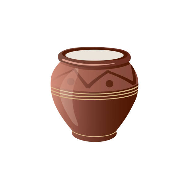clay pot art clip 2,2 Clay Pot Illustrations & Clip Art - iStock